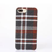 Funda Para Apple iPhone 6 iPhone 7 Plus iPhone 7 Diseños Funda Trasera Diseño Geométrico Dura Textil para iPhone 7 Plus iPhone 7 iPhone