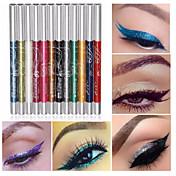 12 colores profesional de maquillaje delineador de labios cejas brillo sombra de ojos delineador de lápiz lápiz de maquillaje cosmético