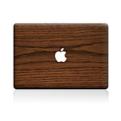 1 pieza Anti-Arañazos Fibra de Madera De Plástico Transparente Adhesivo Diseño ParaMacBook Pro 15'' with Retina MacBook Pro 15 '' MacBook