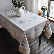 Sengetøy Rektangulær Duge Blomstret Økovennlig Borddekorasjoner
