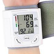 cuidado de la salud de la muñeca monitor de presión arterial automático digital portátil