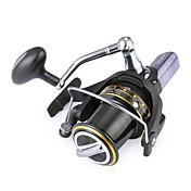 Fiskesneller Spinne-hjul 4.1:1 Gear Forhold+14 Kulelager Hånd Orientering Byttbar Søfisking
