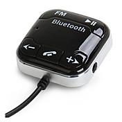bt760 Bluetooth del coche del receptor de audio Bluetooth FM transmisor de teléfono de automóvil Bluetooth micrófono incorporado