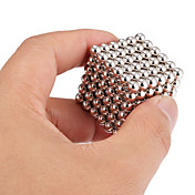 Magnetiske leker Byggeklosser Neodym-magnet Magnetiske kuler Executive Leker 216pcs 5mm Magnet Magnetisk Leketøy Voksne Gave