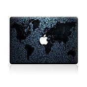 1 pieza Anti-Arañazos Mapa De Plástico Transparente Adhesivo Diseño ParaMacBook Pro 15'' with Retina MacBook Pro 15 '' MacBook Pro 13''