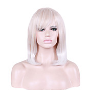 Mujer Pelucas sintéticas Corto Ondulado Natural Peluca natural Pelucas para Disfraz