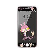 para el iphone de la manzana 7, además de protector de pantalla de cristal templado de 5,5 pulgadas con borde suave cobertura de pantalla