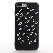 Etui Til iPhone 7 Plus iPhone 7 Apple Mønster Bakdeksel Flise Myk TPU til iPhone 7 Plus iPhone 7