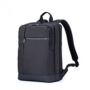 XIAOMI® 15.6 Inch Classic Business Backpack Waterproof Three Layer Super Large Independent Space Zipper Square Design