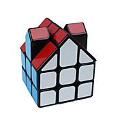 Cubo de rubik Alienígena Cubo velocidad suave Cubos mágicos rompecabezas del cubo Adhesivo suave Casa Regalo Unisex