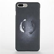 용 반투명 패턴 케이스 뒷면 커버 케이스 동물 하드 PC 용 Apple 아이폰 7 플러스 아이폰 (7) iPhone 6s Plus iPhone 6 Plus iPhone 6s 아이폰 6