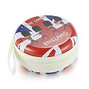 Fidget håndspinner fingerpose britisk vind metall hodetelefon universalveske