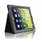 Funda Para Apple iPad Mini 4 Mini iPad 3/2/1 iPad 4/3/2 iPad Air 2 iPad Air con Soporte Magnética Funda de Cuerpo Entero Color sólido Dura