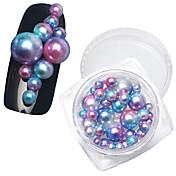 1PCS Kit de uñas Joyas de Uñas Perlas arte de uñas Manicura pedicura Diario Glitters / Moda / Joyería de uñas