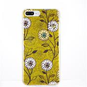 Para Diseños Funda Cubierta Trasera Funda Árbol Suave TPU para Apple iPhone 7 Plus iPhone 7