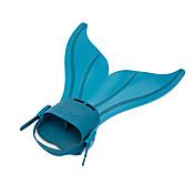 Aletas de buceo Sets de Buceo Ajustable Soltado Rápido Sirena Natación Buceo y Submarinismo TPR Silicona para Mujer Niño