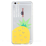 Para Diseños Funda Cubierta Trasera Funda Fruta Suave TPU para Apple iPhone 6s Plus iPhone 6 Plus iPhone 6s iphone 6 iPhone SE/5s iPhone 5