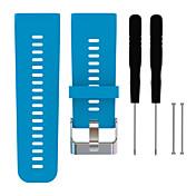 para Garmin VivoActive correas de reloj de moda h banda de reloj de reemplazo de la correa de silicona con herramientas
