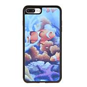 Para Carcasa Funda Diseños Cubierta Trasera Funda Dibujos Suave TPU para AppleiPhone 7 Plus iPhone 7 iPhone 6s Plus iPhone 6 Plus iPhone