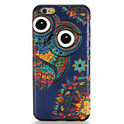 Funda Para Apple iPhone 7 Plus iPhone 7 Diseños Funda Trasera Búho Suave TPU para iPhone 7 Plus iPhone 7 iPhone 6s Plus iPhone 6s iPhone