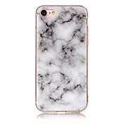 Etui Til Apple iPhone X iPhone 8 IMD Bakdeksel Marmor Myk TPU til iPhone X iPhone 8 Plus iPhone 8 iPhone 7 Plus iPhone 7 iPhone 6s Plus