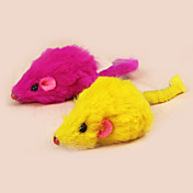 Gato Juguete para Gato Juguetes para Mascotas Ratón de Juguete Juguetes con Plumas Ratón Para mascotas
