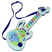 Gitar Pedagogisk leke Fiolin Gitar Rektangulær Plastikker Smuk Lekeinstrumenter Barne Unisex Gave
