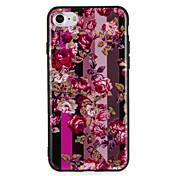 Funda Para Apple iPhone 7 Plus iPhone 7 Diseños Funda Trasera Flor Dura ordenador personal para iPhone 7 Plus iPhone 7 iPhone 6s Plus