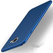 케이스 제품 Samsung Galaxy A5(2017) A3(2017) 울트라 씬 반투명 뒷면 커버 한 색상 하드 PC 용 A3 (2017) A5 (2017) A7 (2017)