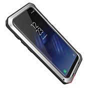 케이스 제품 Samsung Galaxy S8 Plus S8 물 / 먼지 / 충격 증명 풀 바디 갑옷 하드 알루미늄 용 S8 S8 Plus S7 edge S7 S6 edge plus S6