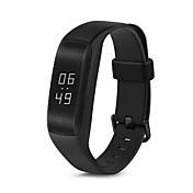 Lenovo HW01 Smart armbånd iOS Android Pekeskjerm Pulsmåler Vannavvisende Kalorier brent Pedometere Trenings logg Sundhetspleie