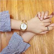 Mujer Reloj creativo único Reloj de Pulsera Reloj Pulsera Reloj de Moda Chino Cuarzo Reloj Casual Acero Inoxidable Banda Vintage Creativo