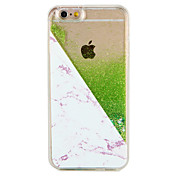 Funda Para Apple iPhone 7 Plus iPhone 7 Líquido Diseños Funda Trasera Mármol Brillante Dura ordenador personal para iPhone 7 Plus iPhone