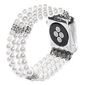 Ver Banda para Apple Watch Series 3 / 2 / 1 Apple Diseño de la joyería Cerámica Correa de Muñeca
