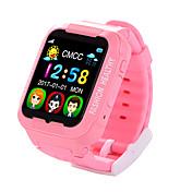 Barneklokker GPS Spill Pekeskjerm Vannavvisende Kalorier brent Pedometere Kamera Distanse måling Multifunktion Informasjon