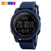 SKMEI 남성용 스포츠 시계 디지털 시계 디지털 PU 밴드 블랙 블루 그린