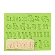 Herramientas para hornear Goma de Silicona / Gel de Sílice / Silicona Antiadherente / Herramienta para hornear / 3D Pastel / Galleta / Cupcake Moldes para pasteles