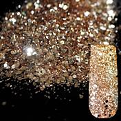 Lentejuelas / Polvo / Glitter Powder Clásico / Brillante / Glamour Nail Art Design Diario