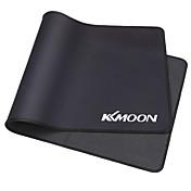 Kkmoon 600 * 300 * 3mm negro llano de gran tamaño extendido de agua de goma antideslizante antideslizante juego de juego de ratones de rat