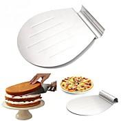 2 케이크 주형 브레드 케이크 쿠키 피자 파이 스테인레스 스틸 + A 그레이드 ABS 스테인리스스틸/강철 스테인리스강 넌스틱 베이킹 도구 고품질 비 스틱 열 절연