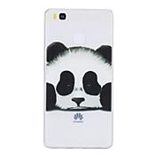 Etui Til Huawei P9 Huawei P9 Lite Huawei Gjennomsiktig Mønster Bakdeksel Panda Myk TPU til P10 Plus P10 Huawei P9 Lite Huawei P9 P8 Lite