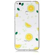 Funda Para Huawei Huawei P8 Lite Transparente Diseños Funda Trasera Fruta Suave TPU para P10 Lite P10 P8 Lite (2017) Huawei P8 Lite Honor