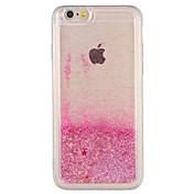 Etui Til Apple iPhone 7 Plus iPhone 7 Flommende væske Bakdeksel Glimtende Glitter Hard PC til iPhone 7 Plus iPhone 7 iPhone 6s Plus