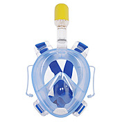 Buceo Máscaras Anti vaho Impermeable Punta seca Máscaras de Cara Completa 180 grados Buceo y Submarinismo WINMAX