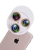 유니버설 4 in 1 카메라 렌즈 키트에는 태블릿 및 휴대 전화 카메라 렌즈 용 어안 렌즈 와이드 앵글 렌즈 매크로 렌즈 cpl 렌즈가 포함됩니다.