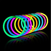 lys opp leker glødpinne armbånd blandede farger fest favoriserer forsyninger (rør av 20)