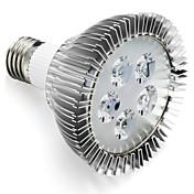 450-550 lm E27 Growing Light Bulb 5 Cuentas LED LED de Alta Potencia Rojo / Azul 85-265 V / 1 pieza / Cañas / CCC
