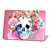 "MacBook Etui Hodeskaller / Blomsternål i krystall TPU til MacBook Air 13 "" / MacBook Air 11 "" / MacBook Pro 13 "" med Retina-display"