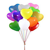 fest ballonger hjerte ballonger 12 tommers latex ballonger 100 pakker for barn party forsyninger bryllup dekorasjon baby shower eller