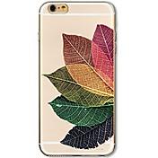 Funda Para Apple iPhone 7 Plus iPhone 7 Ultrafina Transparente Diseños Funda Trasera Árbol Suave TPU para iPhone 7 Plus iPhone 7 iPhone